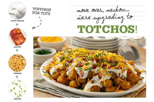 Create your own DIY Totchos Bar for the big