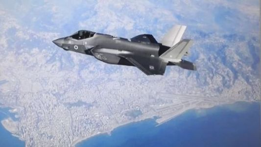 Here's An Israeli F-35 Just Hanging Out Over Lebanon, No Big Deal
