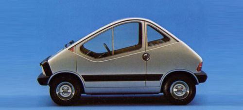 Way back in 1972, Fiat showed off this wild styling concept of a small electric city car called the