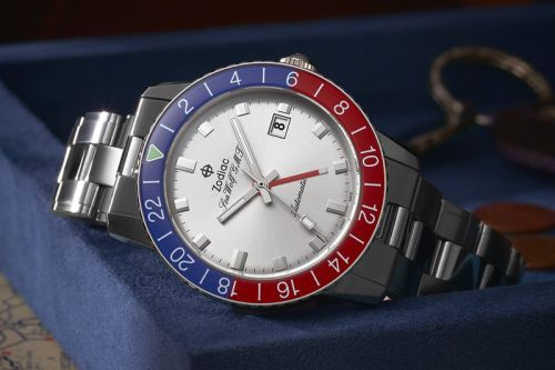 Zodiac Watches Launches Limited-Edition Sea Wolf GMT