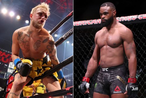 Colby Covington thinks Tyron Woodley is going to take a dive against Jake Paul: 'He's broke'