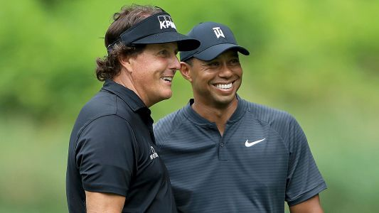 What channel is 'The Match 2' on? How to watch Tiger Woods-Peyton Manning vs. Tom Brady-Phil Mickelson golf match