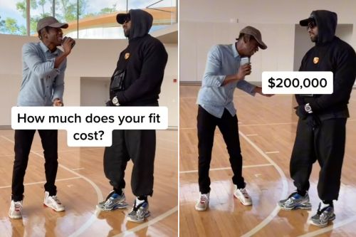 Kanye West tells Chris Smoove he doesn't know cost of outfit - just his $200K watch