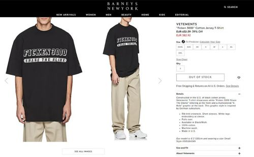 Berlin streetwear label snubs Vetements with t-shirt collection