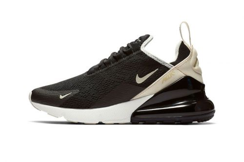 """Nike's Air Max 270 Steps Out in """"Black/Beige"""""""