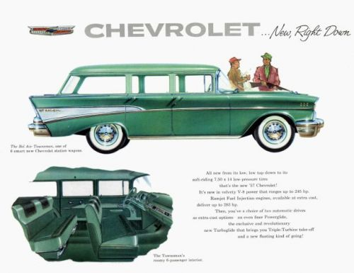 Back in 1957, if you wanted tons of interior space, you didn't have to buy an SUV or a minivan