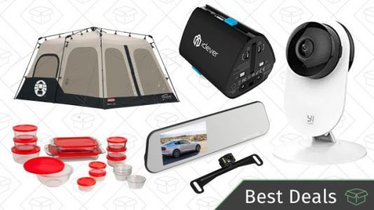 Saturday's Best Deals: Coleman Camping Gold Box, Home Security System, Backup Camera, and More