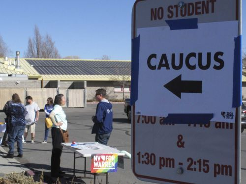 Results coming in to caucus sites will show where Nevada Democrats stand in 2020 fight