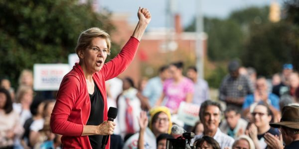Wall Street is more terrified of an Elizabeth Warren presidency than previously thought, new report finds