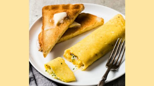For Mother's Day, Roll Up A French-Style Omelet As A Way To Say 'I Love You'