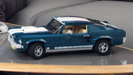 If You Can't Afford a Real 1967 Ford Mustang There's Always This Lego Version
