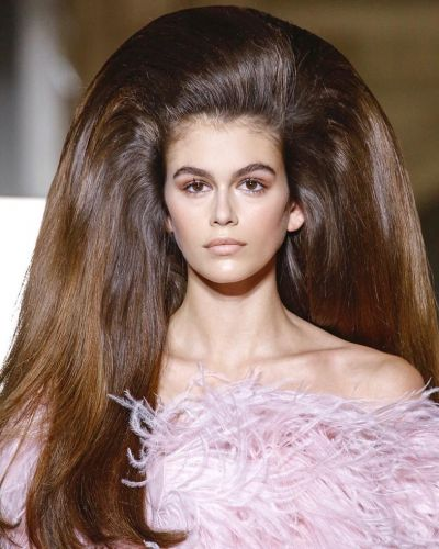 How Guido Palau shaped a history of runway hairstyles