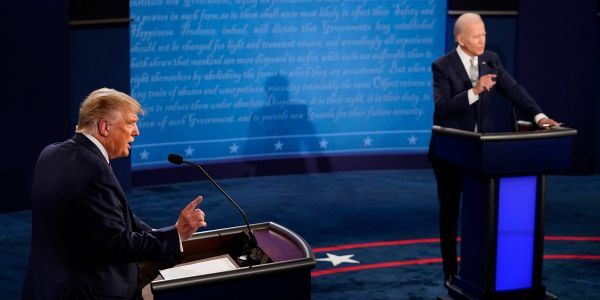 Here are the biggest moments from the chaotic first Trump-Biden debate