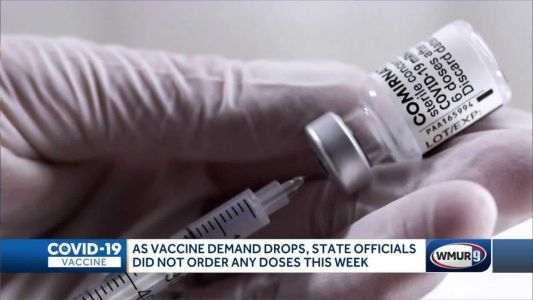New Hampshire requests no new vaccine doses as pace of vaccination slows