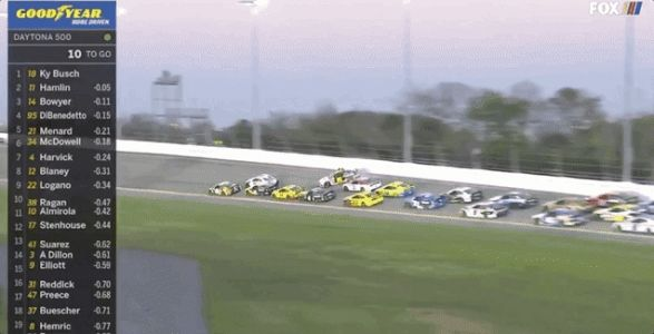 Massive Daytona 500 Crash Takes Out Half of the Field