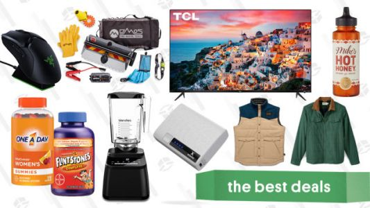Thursday's Best Deals: Vitamin Gold Box, Amazon Warehouse, Collapsible Shovels, and More