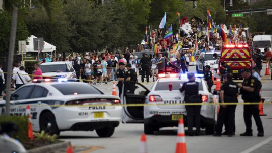 A Driver Crashed Into The Crowd At A Pride Parade In Florida, Killing One Man