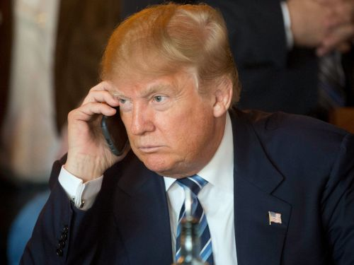 WATCH: Trump's phone call with the widow of fallen Special Forces soldier