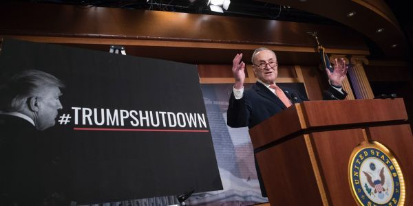 Schumer: 'Negotiating with President Trump is like negotiating with Jell-O'