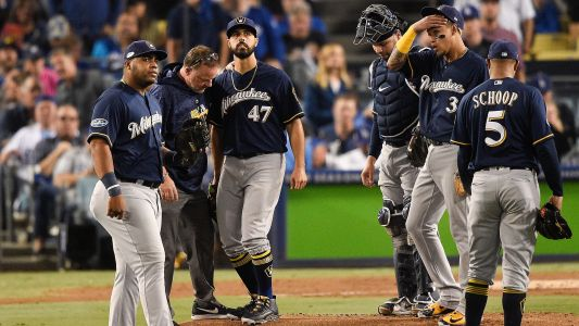 Gio Gonzalez injury update: Brewers P done for MLB 2018 postseason, reports say