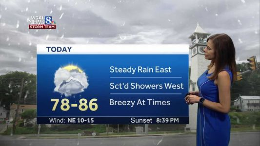 Forecast: Tropical Storm Fay could bring some showers today