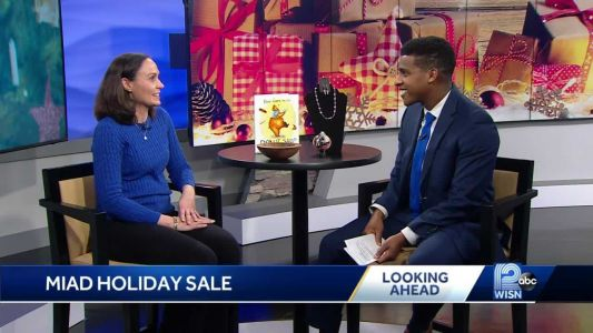 Unique holiday items created by area art students for sale