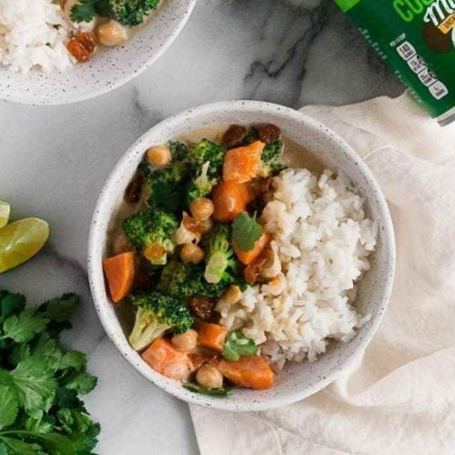 Simple Vegetarian Green Curry