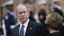 George W. Bush Calls For End To Shutdown With Pizza Delivery