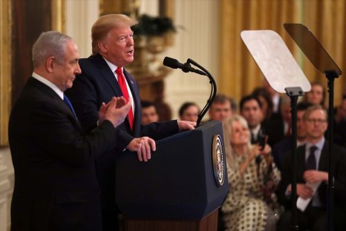 Trump unveils longshot Middle East peace plan with path to Palestinian statehood