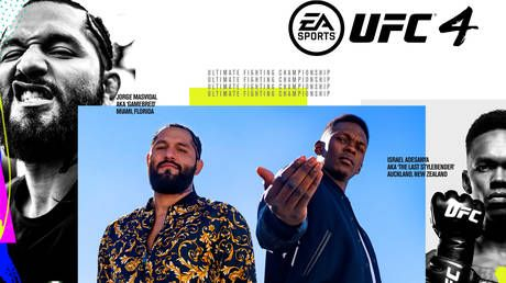 In the game: Jorge Masvidal and Israel Adesanya win hotly-contested battle for UFC 4 cover star status