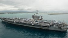 U.S. Navy To Relieve Commander Of Coronavirus-stricken Aircraft Carrier, Report Says