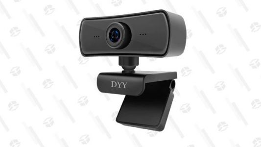 Up Your Zoom Game With This Highly-Rated 2K Rotating Webcam For Only $20 With Promo Code