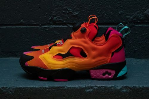 Chromat Teams With Reebok for Colorful Instapump Fury Collection