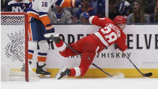 Detroit Red Wings approach trade deadline already eliminated from playoff contention