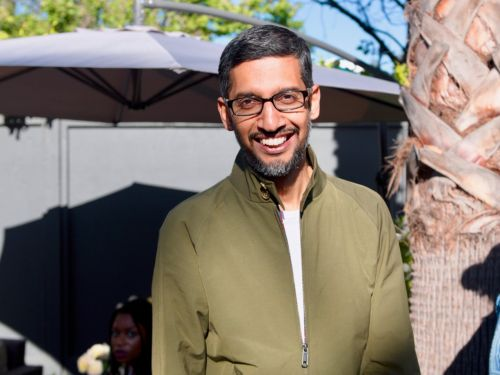 Google CEO Sundar Pichai says employee protests against the company's work with US military had little impact on management: 'We don't run the company by referendum'