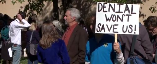 Hundreds protest controversial science proposal