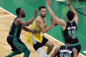 Tatum (44) bests Curry (47), Celtics beat Warriors 119-114