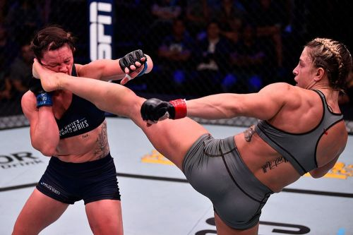 Newly signed Hannah Goldy, Miranda Granger targeted for UFC on ESPN 5 matchup
