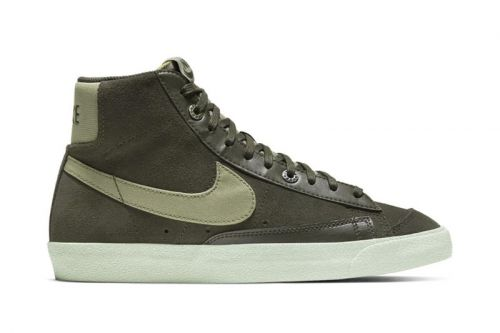 """Nike's Blazer Mid '77 Receives Understated """"Light Army"""" Makeover"""
