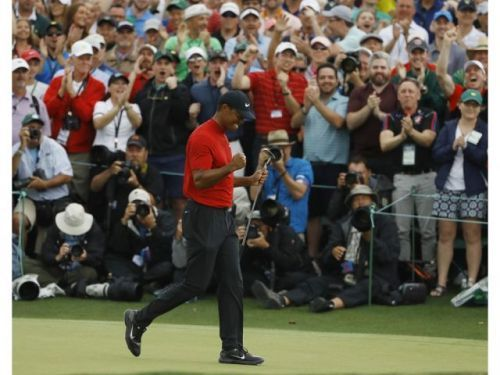 Bookie taking a beating: Man bets $85,000 on 14-1 odds of Tiger Woods winning Masters