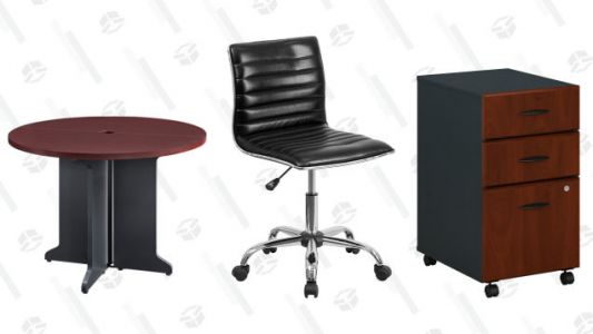 Redecorate Your Workspace With This Office Furniture Gold Box