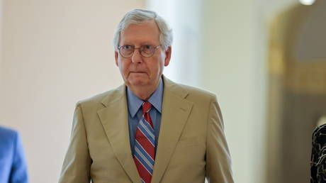 McConnell promises to block Biden from filling Supreme Court vacancy if Republicans take control of Senate