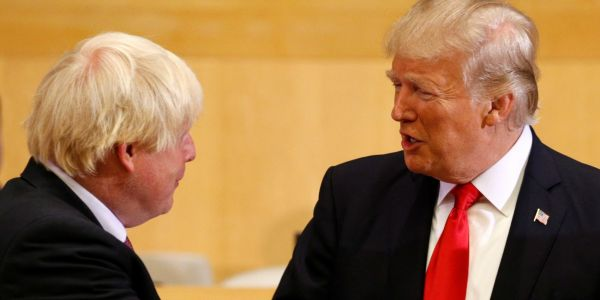 'He will be great': Trump congratulates Boris Johnson on winning the race to become prime minister
