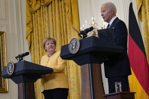 Biden and Merkel present united front - but still don't see eye to eye on Nord Stream 2