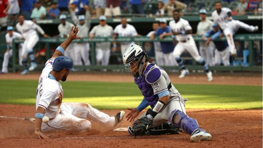 MLB wrap: Rangers score four runs in ninth to pick up walk-off win over Rockies