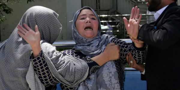 At least 31 killed in suicide bombing at voter registration center in Afghanistan