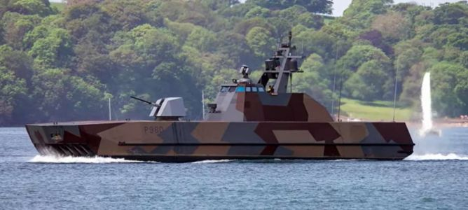 How Norway's high-speed missile boats pack a big punch