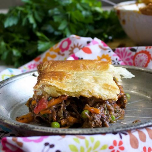 Tuscan Beef Pot Pie