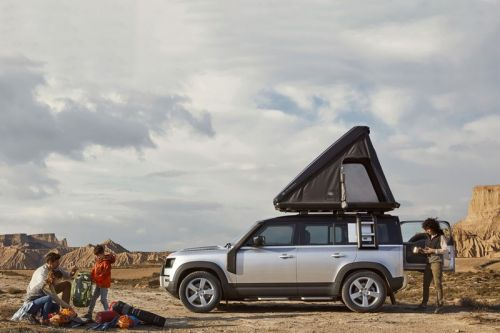 Autohome Teams With Land Rover for a Robust Roof Camper