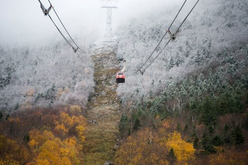 Parts of New England see first snow of season